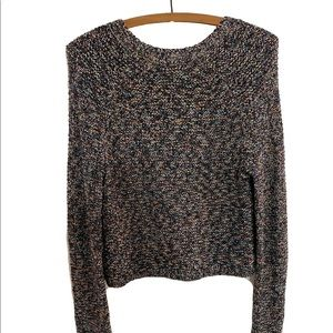 BCBGeneration multicolor waffle knit sweater-M